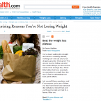5 Surprising Reasons You're Not Losing Weight1