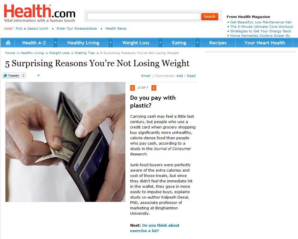 5 Surprising Reasons You're Not Losing Weight3